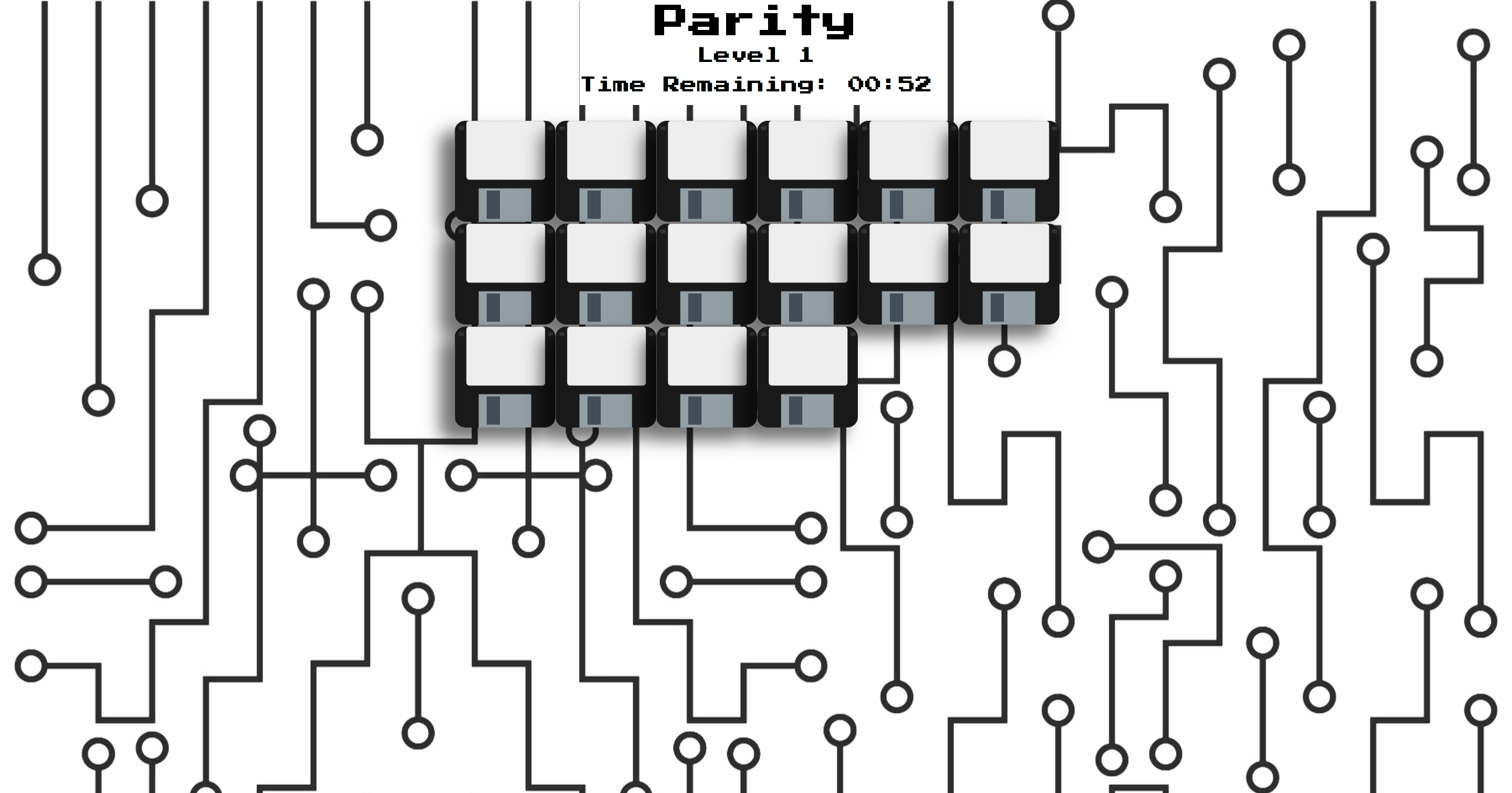 screenshot of parity site landing page